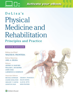 Couverture de l'ouvrage DeLisa's Physical Medicine and Rehabilitation: Principles and Practice