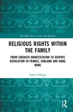Cover of the book Religious Rights within the Family