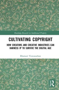 Cover of the book Cultivating Copyright
