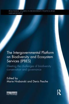 Couverture de l'ouvrage The Intergovernmental Platform on Biodiversity and Ecosystem Services (IPBES)