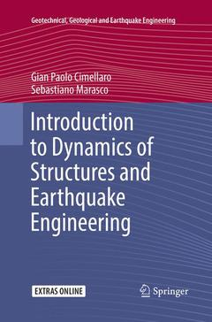 Cover of the book Introduction to Dynamics of Structures and Earthquake Engineering