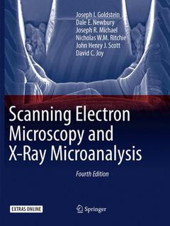 Couverture de l'ouvrage Scanning Electron Microscopy and X-Ray Microanalysis