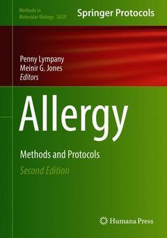Couverture de l'ouvrage Allergy
