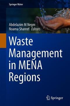 Couverture de l'ouvrage Waste Management in MENA Regions