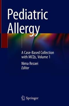Couverture de l'ouvrage Pediatric Allergy