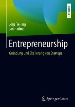 Couverture de l'ouvrage Entrepreneurship