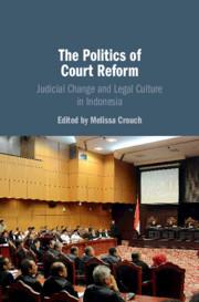 Couverture de l'ouvrage The Politics of Court Reform