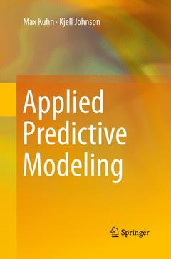 Cover of the book Applied Predictive Modeling