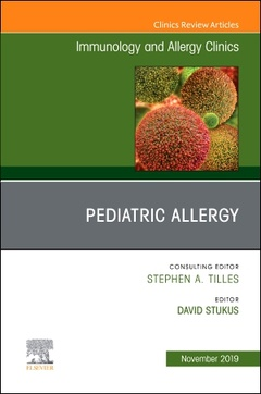 Couverture de l'ouvrage Pediatric Allergy,An Issue of Immunology and Allergy Clinics