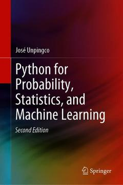 Couverture de l'ouvrage Python for Probability, Statistics, and Machine Learning