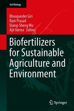 Couverture de l'ouvrage Biofertilizers for Sustainable Agriculture and Environment