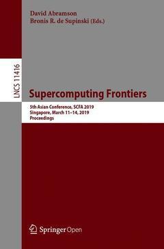 Couverture de l'ouvrage Supercomputing Frontiers