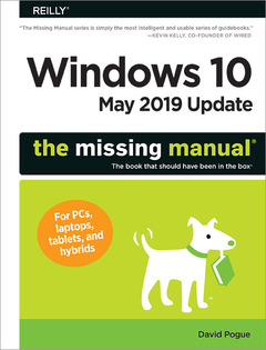 Cover of the book Windows 10 - May 2019 Update: The Missing Manual