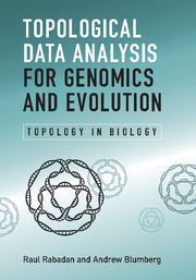 Cover of the book Topological Data Analysis for Genomics and Evolution