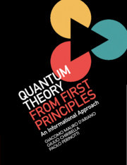 Couverture de l'ouvrage Quantum Theory from First Principles