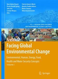 Couverture de l'ouvrage Facing Global Environmental Change