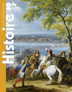 Couverture de l'ouvrage Histoire seconde livre de l'eleve 2019