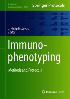 Couverture de l'ouvrage Immunophenotyping