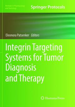 Cover of the book Integrin Targeting Systems for Tumor Diagnosis and Therapy