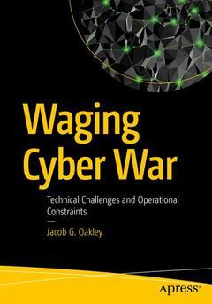 Couverture de l'ouvrage Waging Cyber War