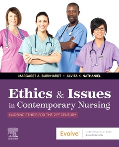 Couverture de l'ouvrage Ethics & Issues In Contemporary Nursing