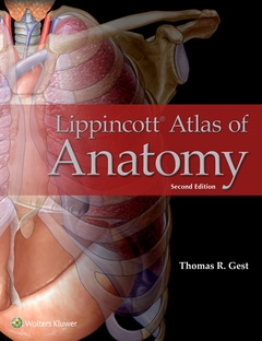 Couverture de l'ouvrage Lippincott Atlas of Anatomy