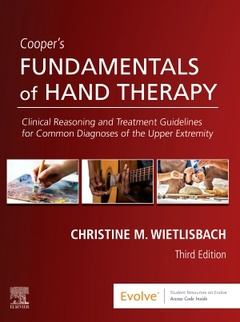 Couverture de l'ouvrage Cooper's Fundamentals of Hand Therapy