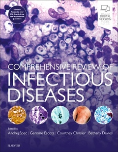 Couverture de l'ouvrage Comprehensive Review of Infectious Diseases