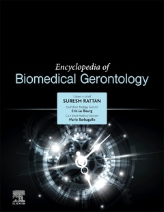 Couverture de l'ouvrage Encyclopedia of Biomedical Gerontology