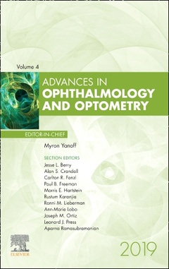 Couverture de l'ouvrage Advances in Ophthalmology and Optometry
