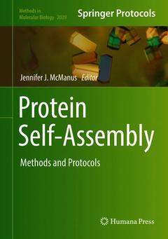 Cover of the book Protein Self-Assembly