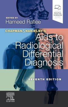 Couverture de l'ouvrage Chapman & Nakielny's Aids to Radiological Differential Diagnosis