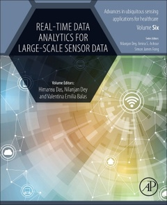 Cover of the book Real-Time Data Analytics for Large Scale Sensor Data