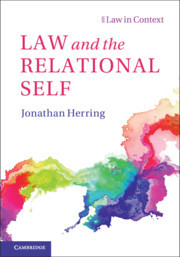Couverture de l'ouvrage Law and the Relational Self