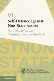 Cover of the book Self-Defence against Non-State Actors: Volume 1
