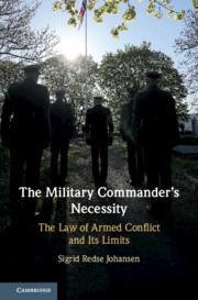 Couverture de l'ouvrage The Military Commander's Necessity