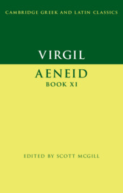 Couverture de l'ouvrage Virgil: Aeneid Book XI