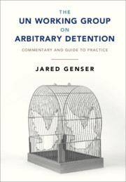 Couverture de l'ouvrage The UN Working Group on Arbitrary Detention