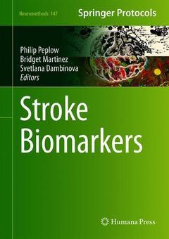 Couverture de l'ouvrage Stroke Biomarkers