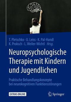 Couverture de l'ouvrage Neuropsychologische Therapie mit Kindern und Jugendlichen