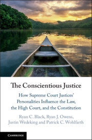 Cover of the book The Conscientious Justice