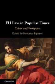 Couverture de l'ouvrage EU Law in Populist Times