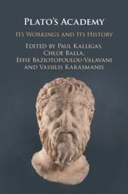 Couverture de l'ouvrage Plato's Academy