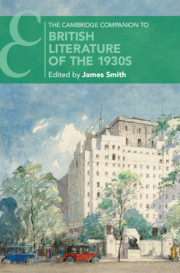 Couverture de l'ouvrage The Cambridge Companion to British Literature of the 1930s