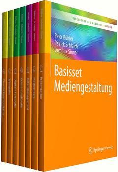 Couverture de l'ouvrage Bibliothek der Mediengestaltung - Basisset Mediengestaltung