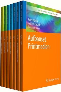Couverture de l'ouvrage Bibliothek der Mediengestaltung - Aufbauset Printmedien