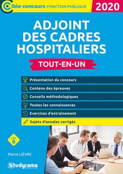 Couverture de l'ouvrage Adjoint des cadres hospitaliers