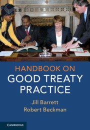 Couverture de l'ouvrage Handbook on Good Treaty Practice