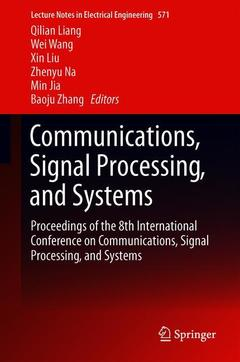Couverture de l'ouvrage Communications, Signal Processing, and Systems