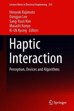 Cover of the book Haptic Interaction